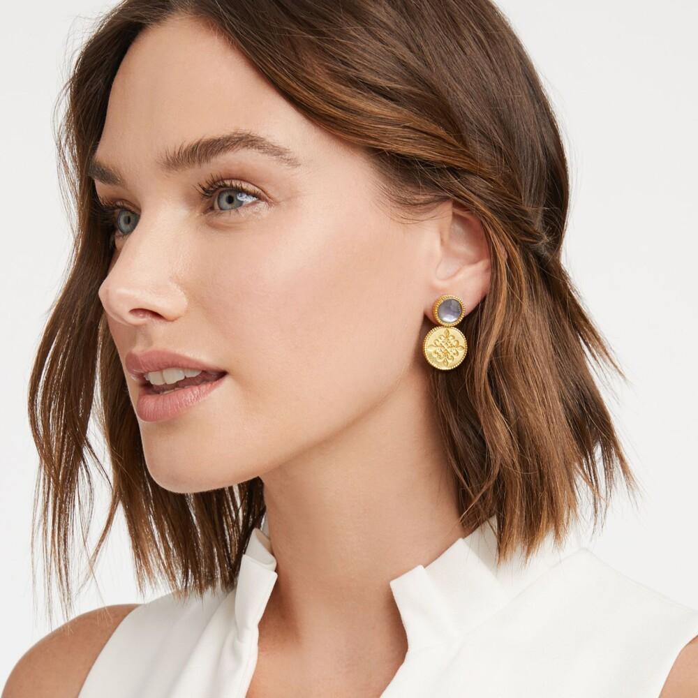 Image 2 for Fleur-de-Lis Earring