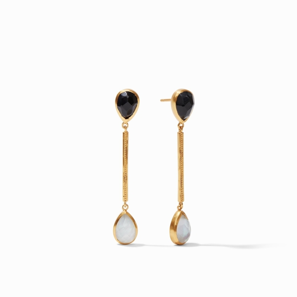 Closeup photo of Cassis Duster Earring