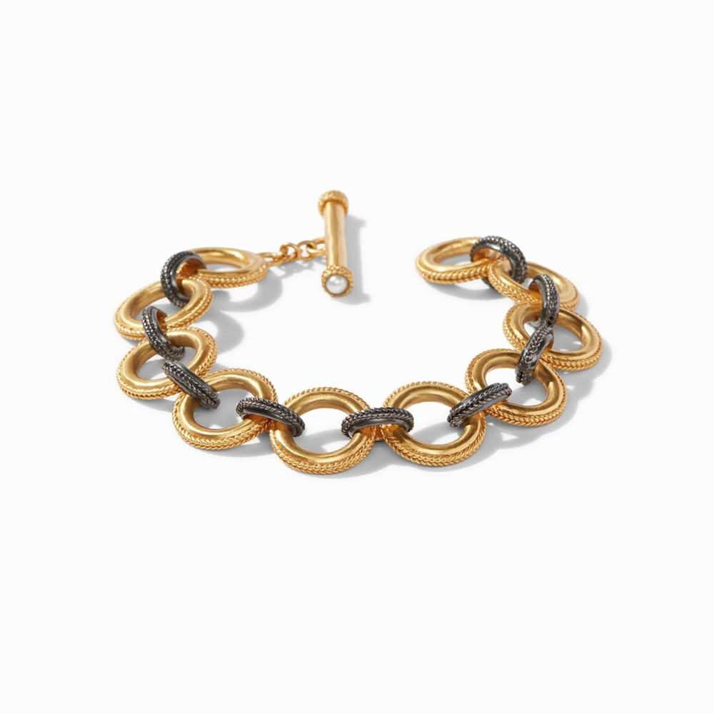 Verona Link Bracelet in Mixed Metal