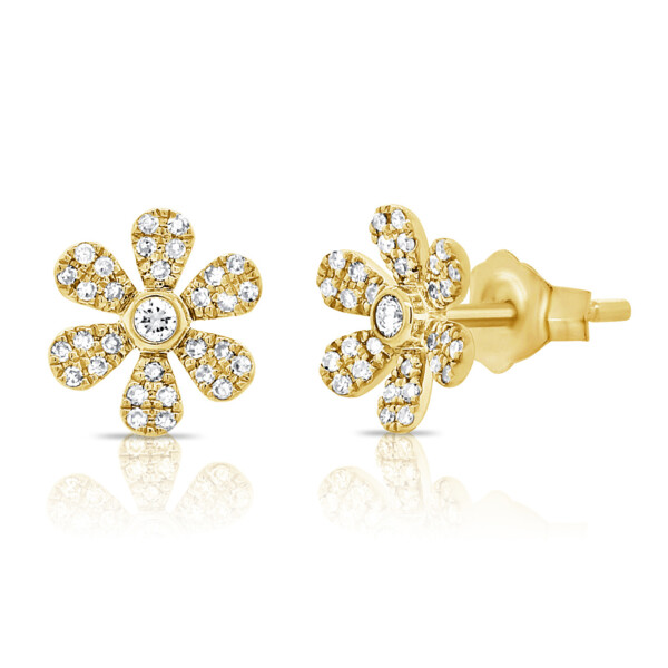Closeup photo of Flower Studs