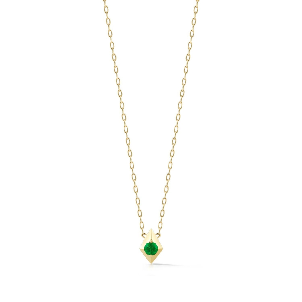Vohk Emerald Pendant Necklace