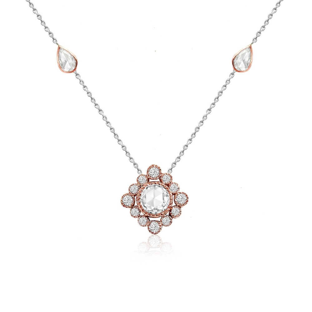 Love Song Necklace 18k Gold with Diamonds