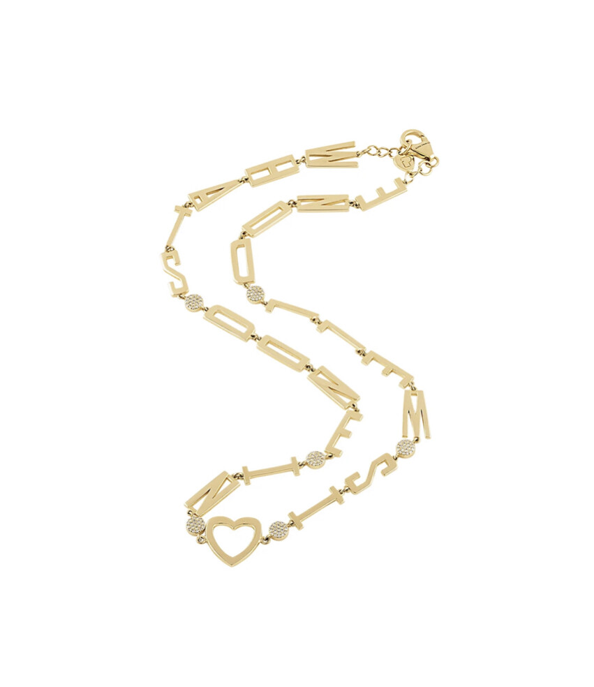 Golden Mantra Necklace 14k Yellow Gold