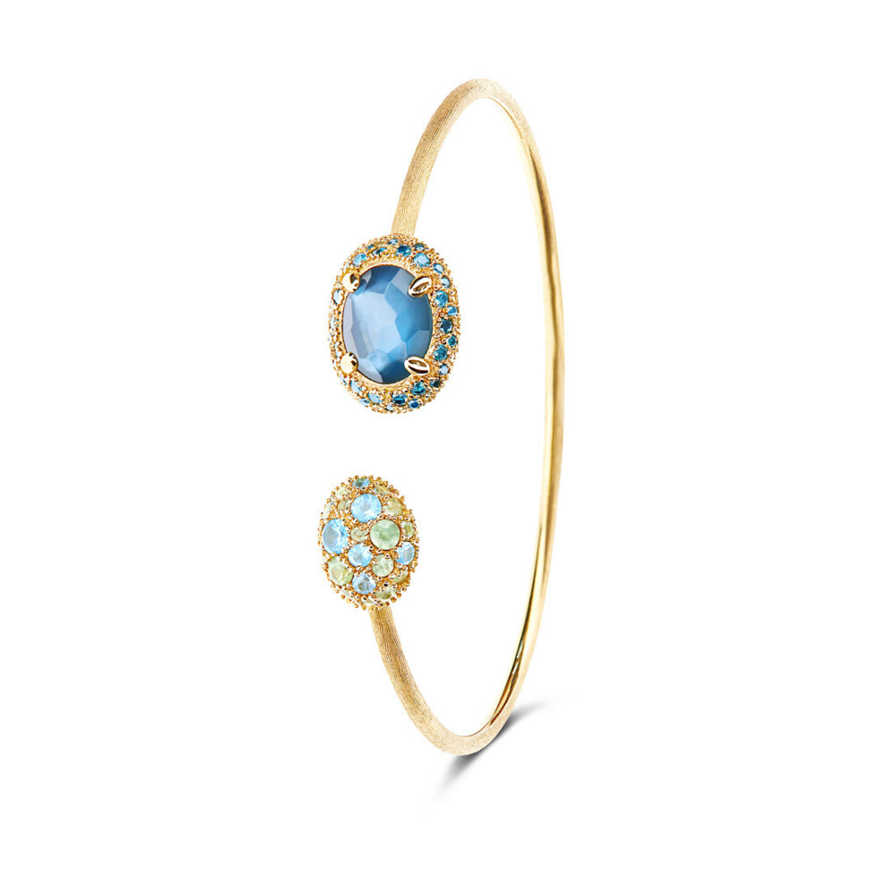 Dancing Reverse Bracelet in Ocean Blue