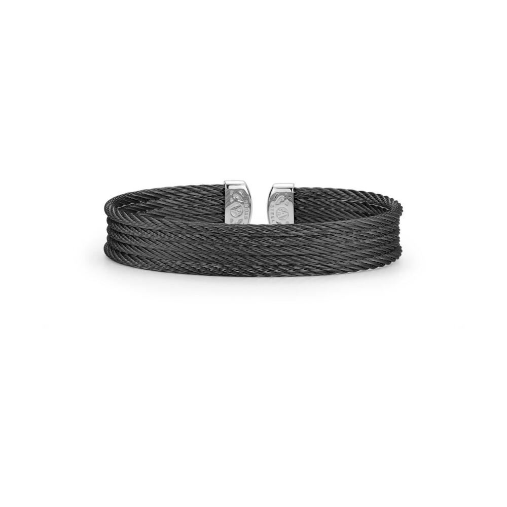 Black Cable Mini Cuff