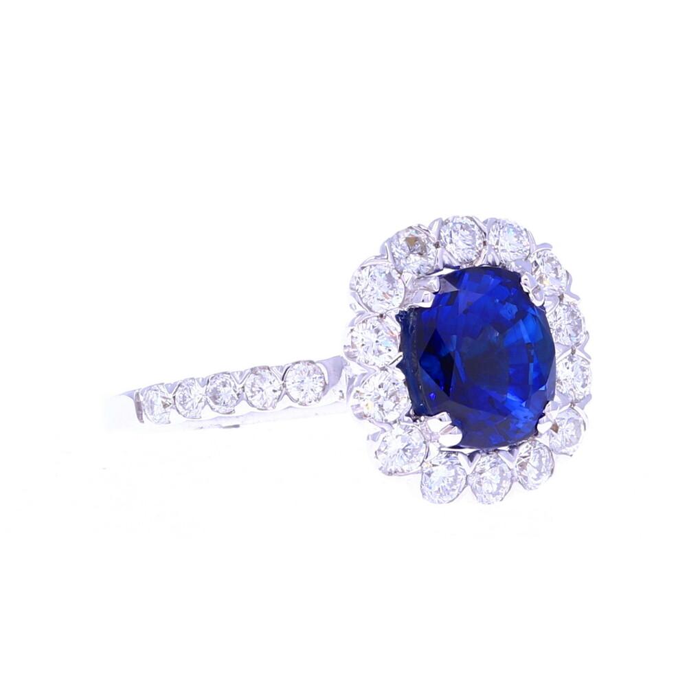 "18k ""Princess Diana"" Sapphire Ring"