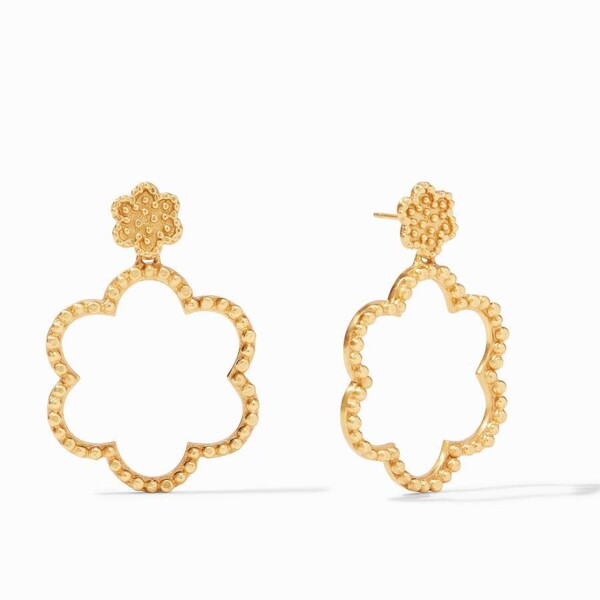 Closeup photo of Colette Statement Earring
