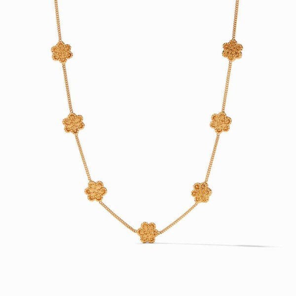 Closeup photo of Colette Delicate Station Necklace