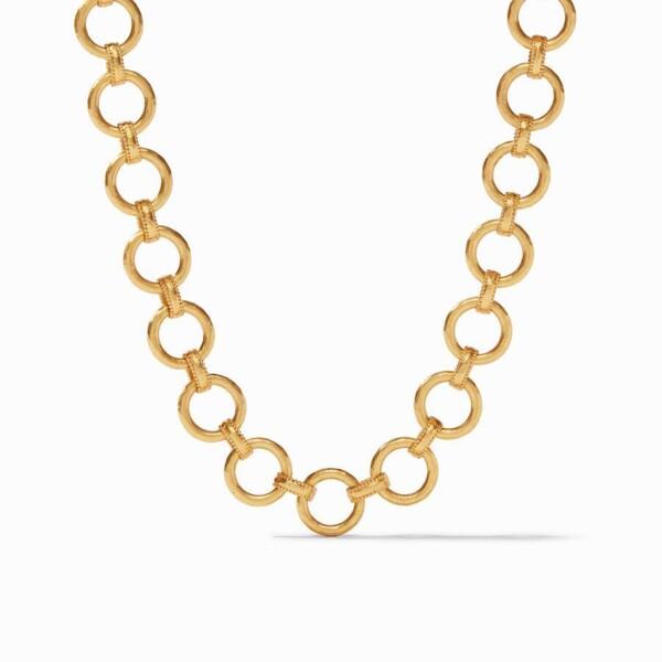 Closeup photo of Savoy Demi Link Necklace