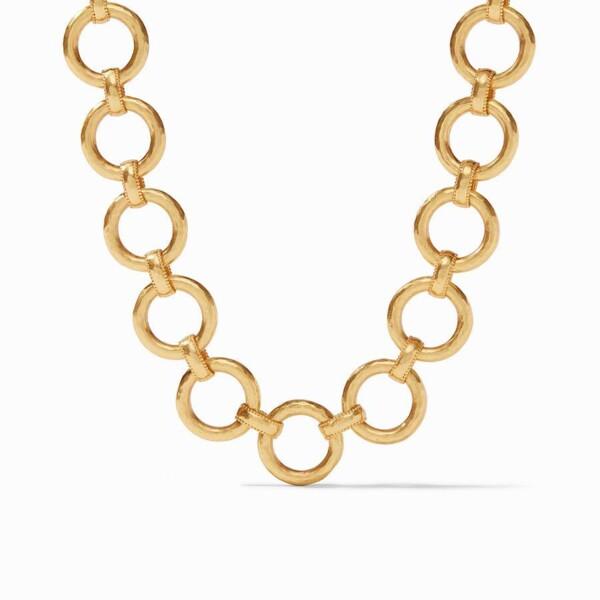 Closeup photo of Savoy Link Necklace
