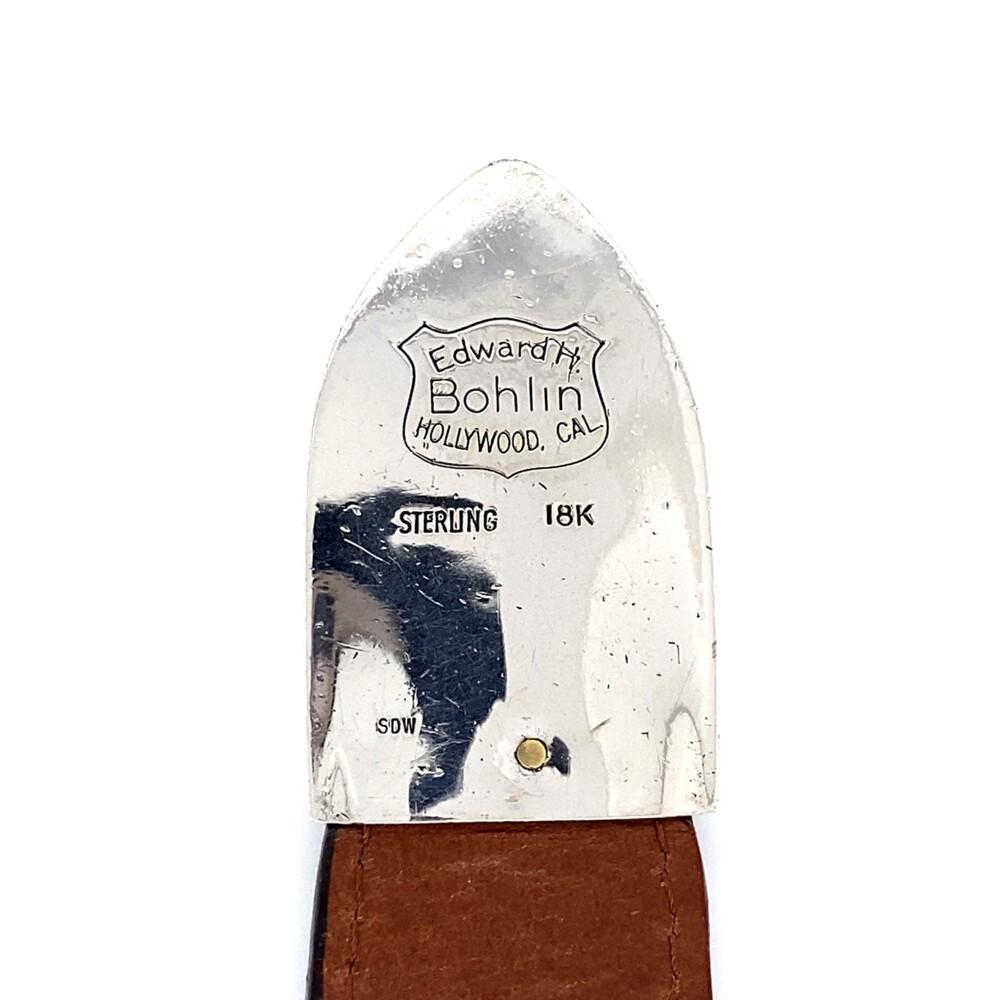 Bohlin Custom Belt Buckle 925 & 18k 4.50tcw Diamonds & Rubies on Alligator Strap