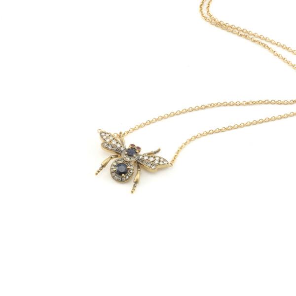 Closeup photo of Bug Pendant Necklace