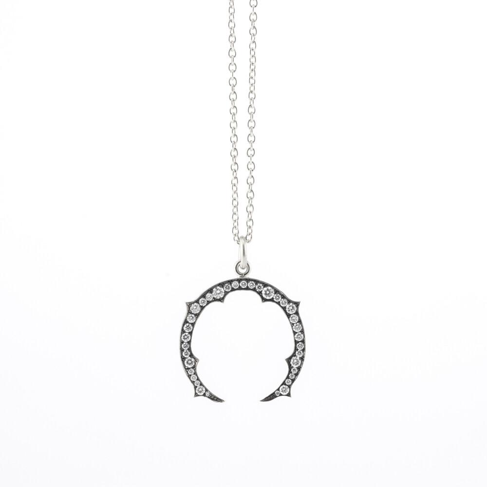 Small Horseshoe Pendant w/ Chain
