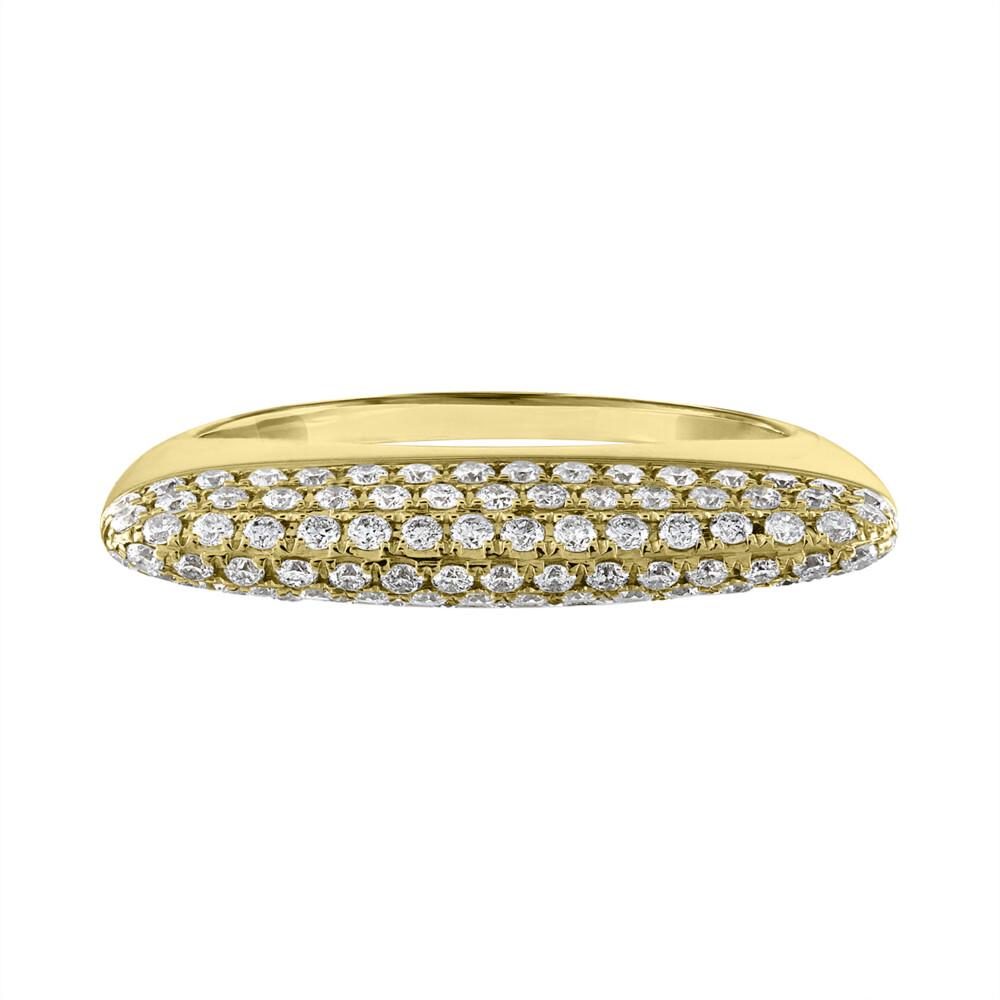 Eden Pave Stack Ring Golden