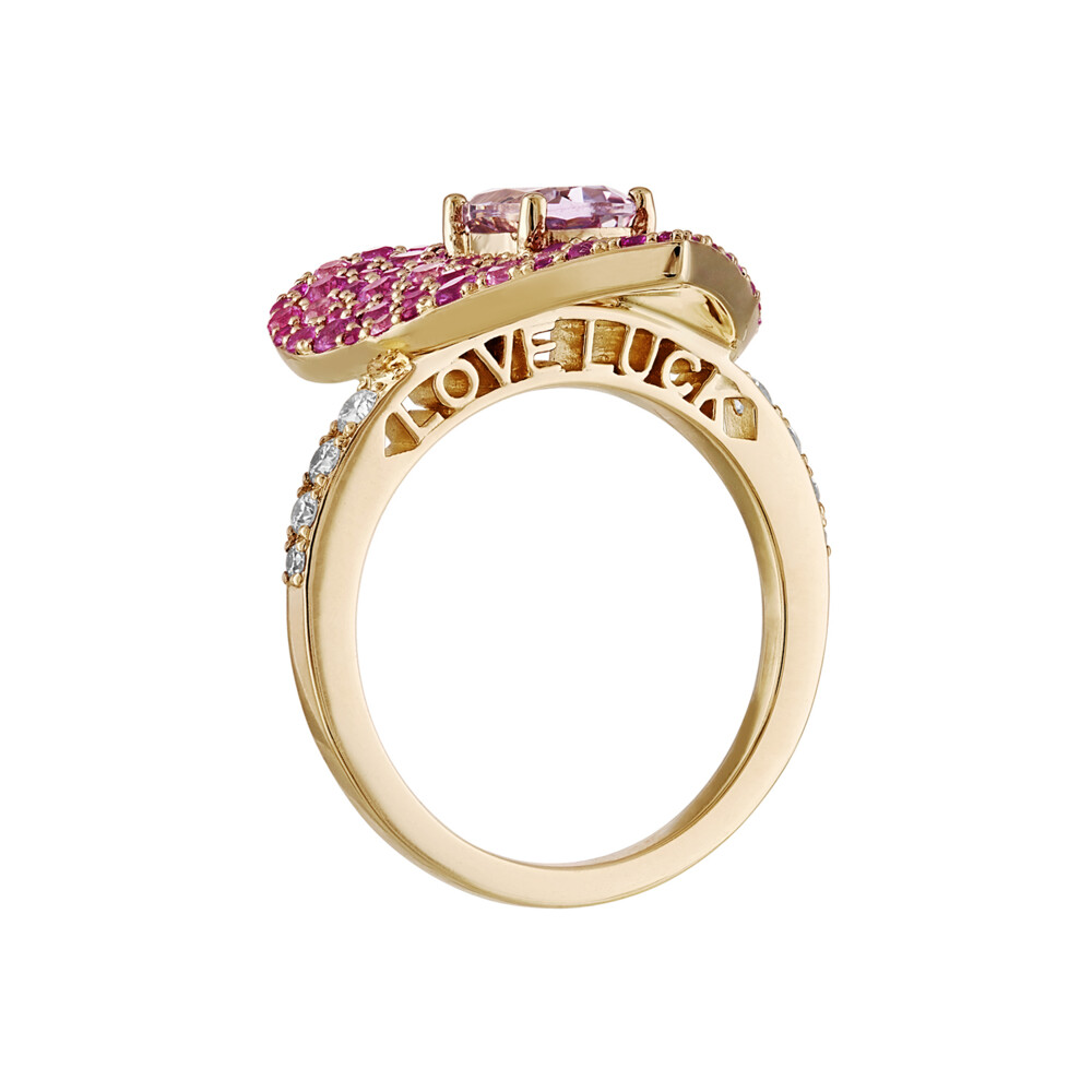 Love Luck Ruby Ring