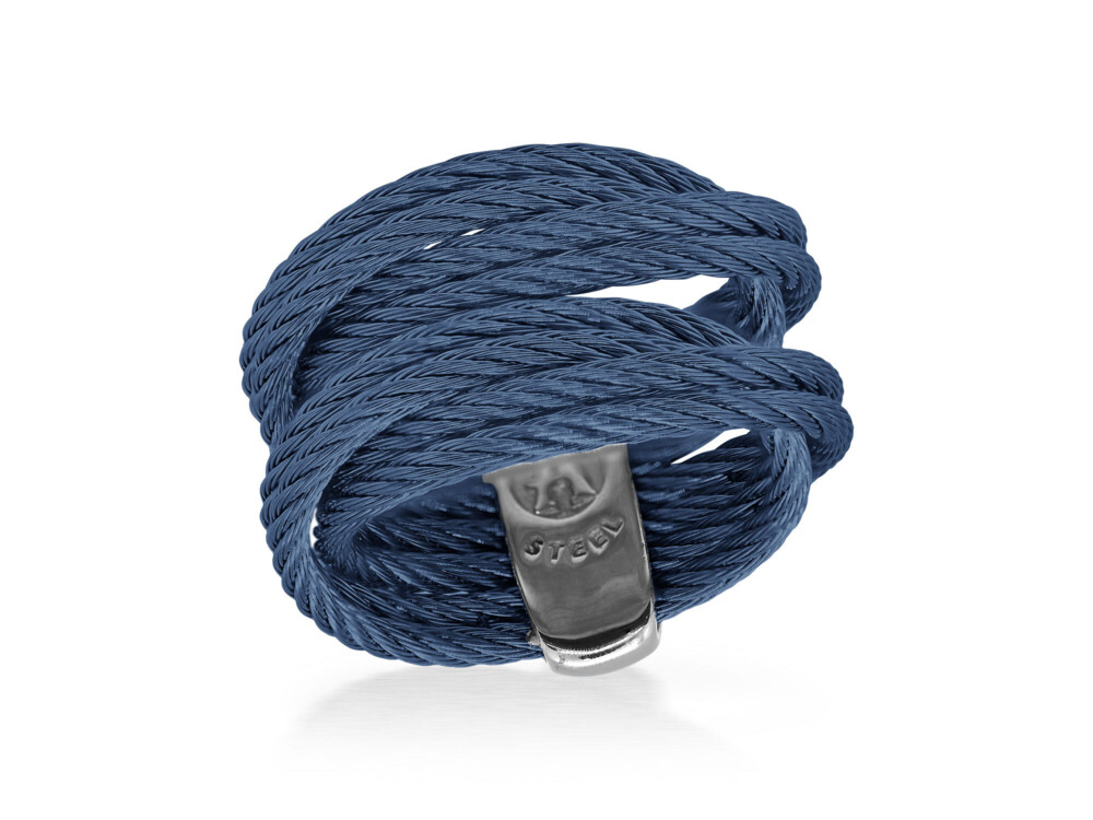 Blueberry Cable Entwine Ring – ALOR