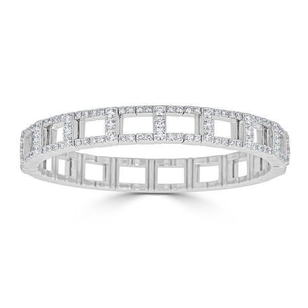 Closeup photo of H Stretch Diamond Bracelet