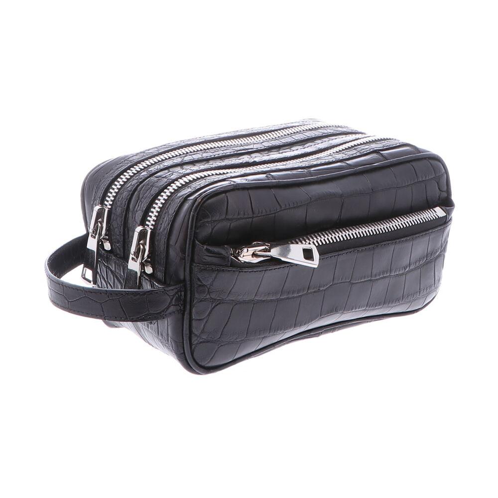 Men's Alligator DOPP Bag