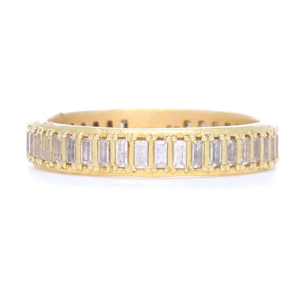Sueno 18k Yellow Gold Ring With Diamonds