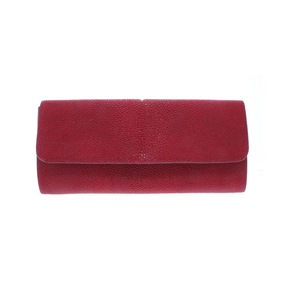 Red Stingray Evening Clutch
