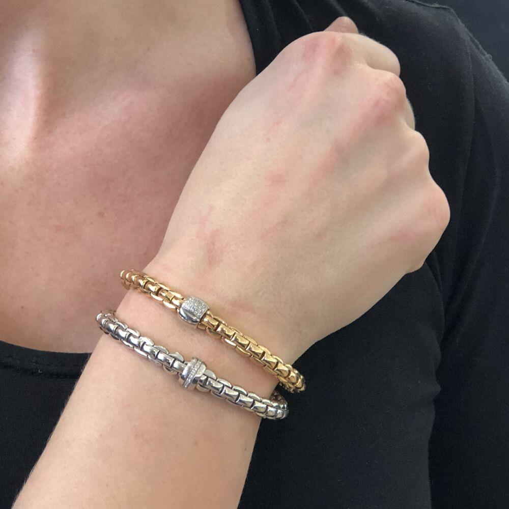 Image 2 for Eka Flex'it White Gold Diamond Bracelet