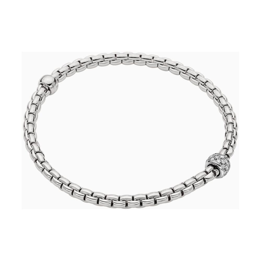 Image 2 for Eka Tiny Flex'it 18k Gold Tiny Pave Bracelet with Diamonds