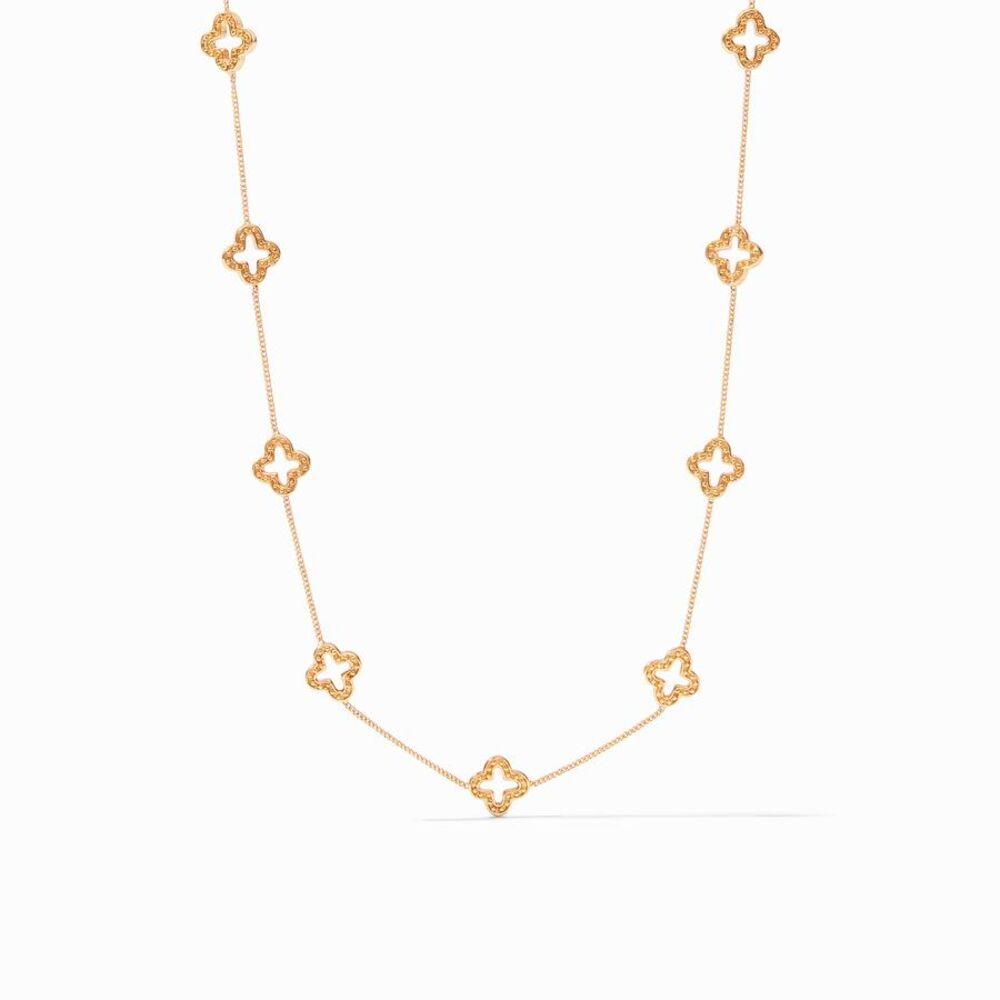Florentine Delicate Station Necklace