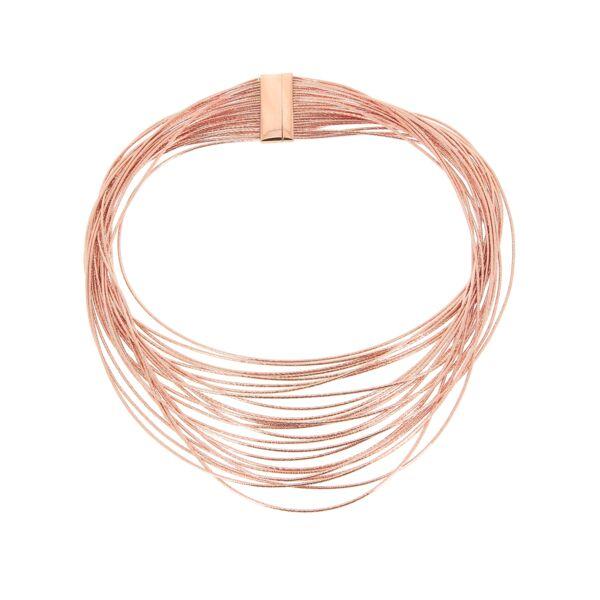 Closeup photo of Wide Bib Necklace