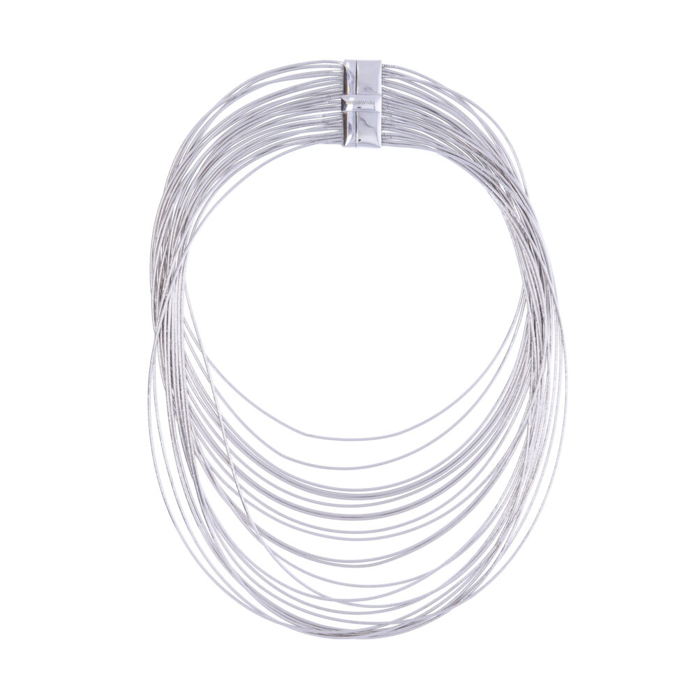 Wide Bib Necklace