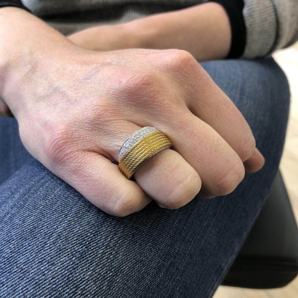 Peekaboo Yellow Ring