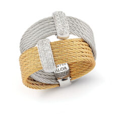Closeup photo of Double Stacked Ring