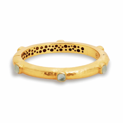 "Collection: Old World Style #: 11659 Description: Old World blackened sterling silver/18k yellow gold 14"" 18mm pave bead double-wrap leather bracelet with champagne and black diamonds. Diamond Weight 0.07ct"