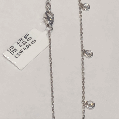"""Collection: Old World Style #: 11904 Description: New World blackened sterling silver/sterling silver 7.5"""" crivelli chain bracelet with carved South Sea Tahitian Pearl and champagne diamonds. Diamond Weight 0.14ct"""