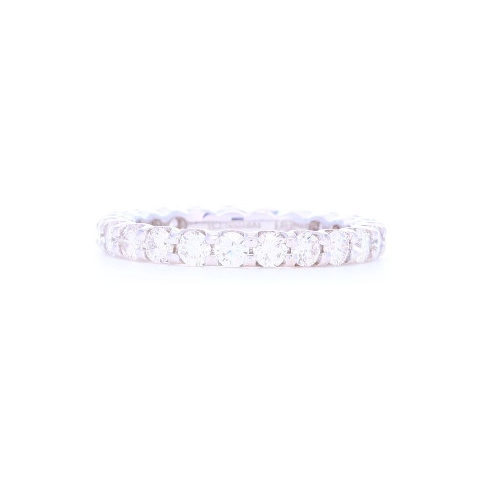 Shared Prong Brilliant Cut Diamond Eternity Ring