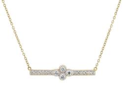 Closeup photo of Provence Bar Necklace